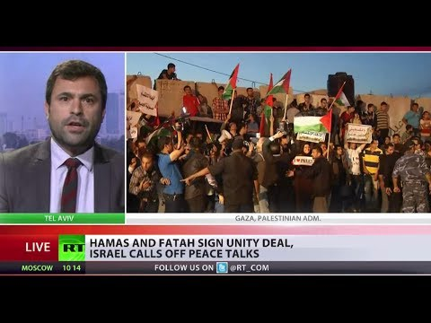 Palestine Unity? Israeli peace accord on hold as Hamas and Fatah join forces klip izle