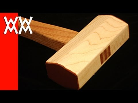 Make a wood mallet