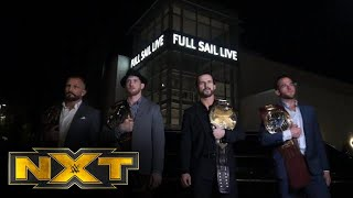 The Undisputed ERA are ready for WarGames: NXT Exclusive, Nov. 20, 2019