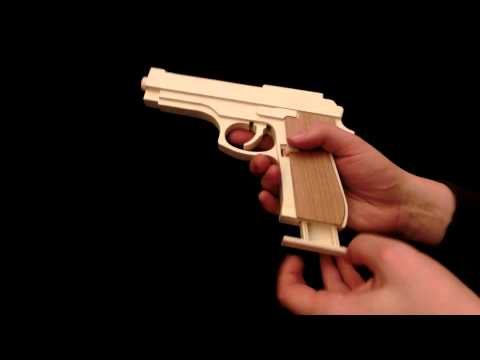 How To Make A Popsicle Stick Gun | Apps Directories