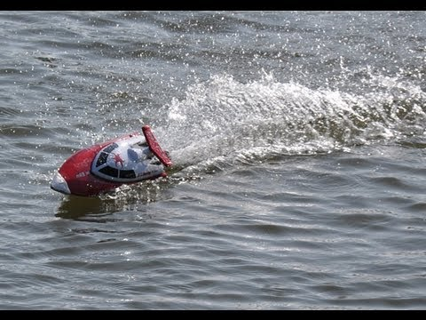 Mini Lancha RC - Serpent 2 Mini V-Hull Racing Boat - análise geral
