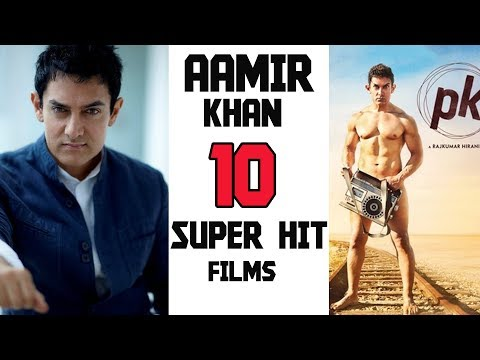 Top 10 Aamir Khan Super Hit Films  | 2017