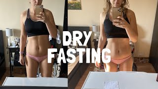 DRY FASTING 36 HOURS | (NO FOOD, NO WATER)