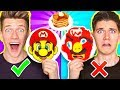 PANCAKE ART CHALLENGE 4!!! Learn How To Make Mario Odyssey St...