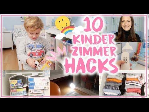 10 Kinderzimmer Hacks &Tipps♥︎•Zimmer kindgerecht gestalten• Einfach&Schnell • Maria Castielle