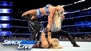 Charlotte Flair vs. Natalya: SmackDown LIVE, June 13, 2017