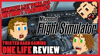 Microsoft Flight Simulator X - One Life Review 50th Episode Special