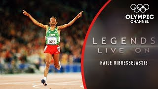 The Story of Ethiopian Athletics Star Haile Gebrselassie  Legends Live On