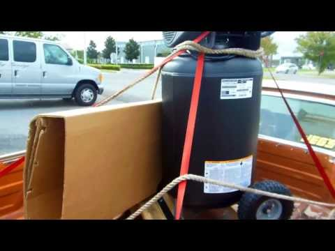 Kobalt 30 gallon Cast Iron Air Compressor - good deal