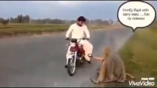 Beggar prank on bikers MUST WATCH