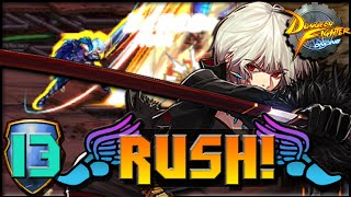 DFO Rush! - [Sword Master] - UNLEASHED GLORIAAAAA!
