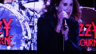ozzy open air fest chicago war pigs + drum solo finish