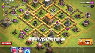 Clash of clans saldirı #4