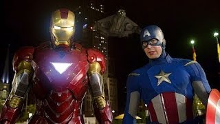 Iron Man & Captain America vs Loki - Fight Scene - The Avengers (2012) Movie Clip HD