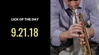 Jazz Trumpet | Lick of the Day 9.21