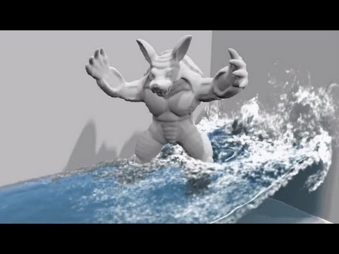 PhysX - Real-Time Fluid Physics Demo