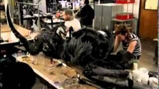 Animatronics en The Thing 2011