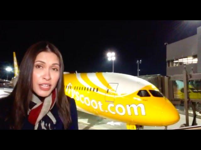 Scoot welcomes Boeing 787 Dreamliner 'Dream Start'