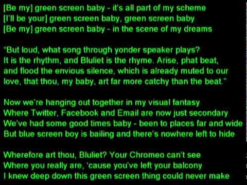 "Justin CR - ""Green Screen Baby"" Play it Strange 2011 thumbnail"