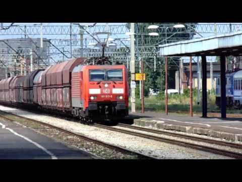 Pociąg Towarowy Z Deutsche Bahn E189-013-6 W Zielonej Górze