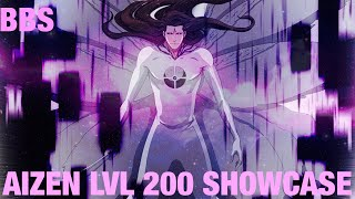 Bleach Brave Souls: Aizen Butterfly lvl 200 vs Enriched Droplet Zone!