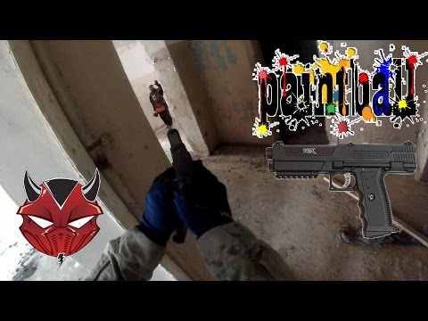 Пейнтбол (Бол штурм ) пистолет tippmann tpx