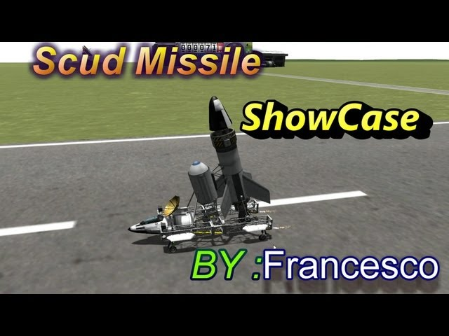 Kerbal Space Program : Scud Missile by Francesco [ ShowCase ]