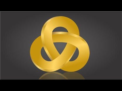3D Geometric Logo Designing