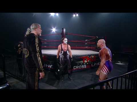 Tna: Sting Vs. Angle Empty Arena Footage video