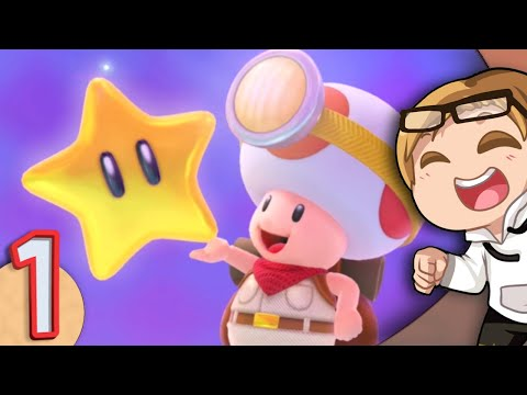 Theory Crafting & Terrible Impressions「Captain Toad: Treasure Tracker 🍄🎒 Ep1」