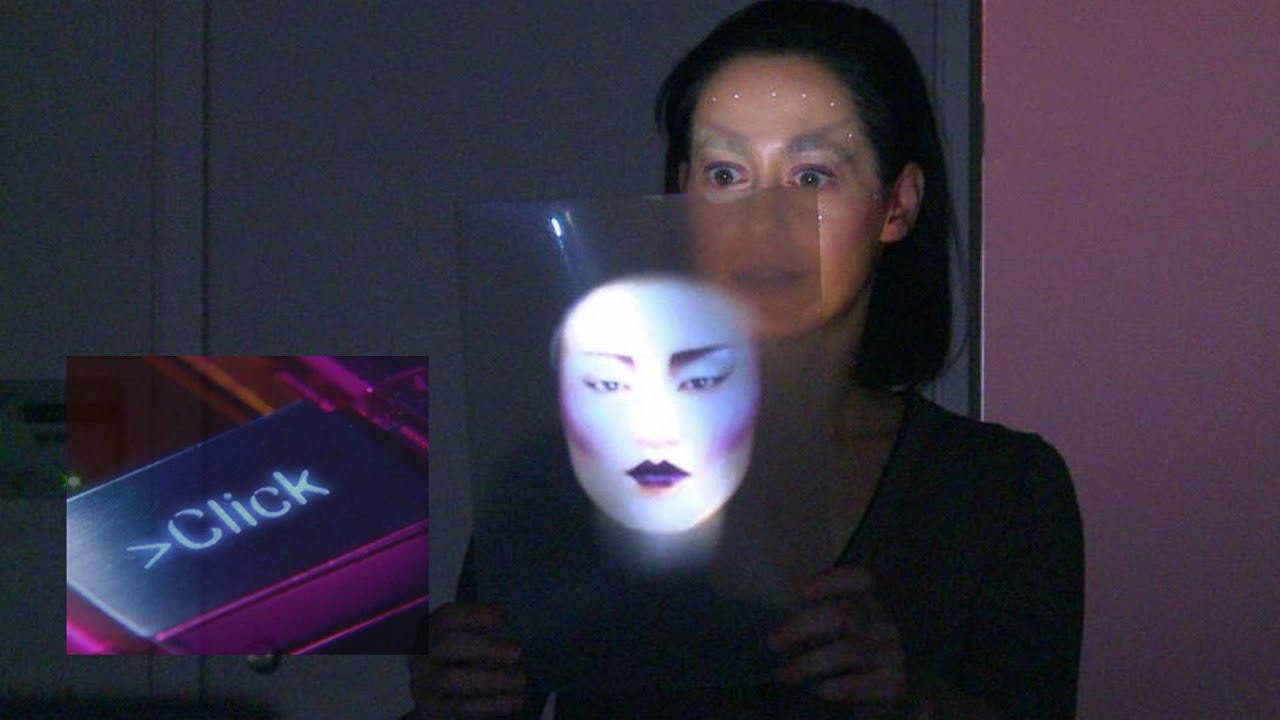 Projection Mapping Face Projection Mapping