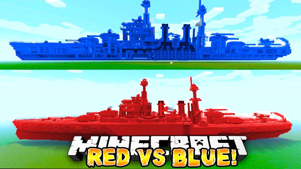 Red Vs Blue | Minecraft Skins