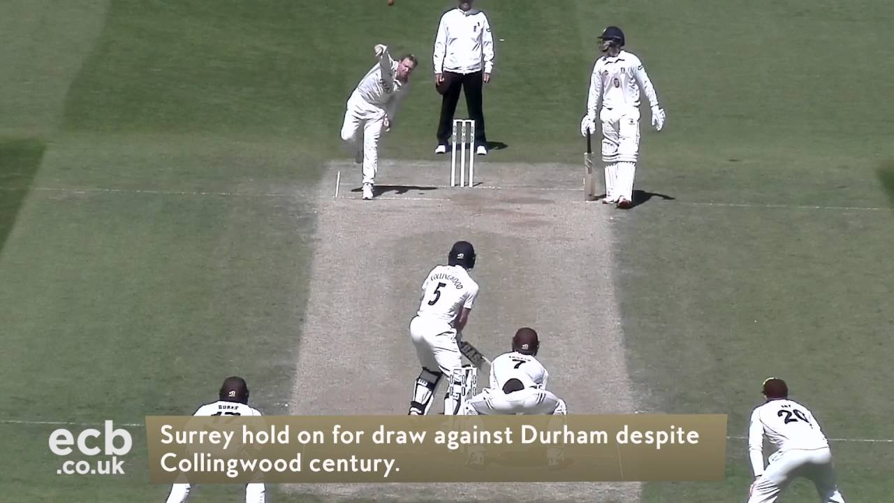 Specsavers County Championship Headlines - May 4