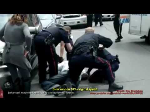 Peel Police TASER Brampton Man ENHANCED original