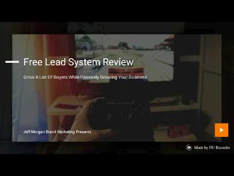 Free Lead System Review - Lead Generation And Marketing Training
