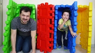 Yusuf and Dad play Hide and Seek-Funny Kids Video