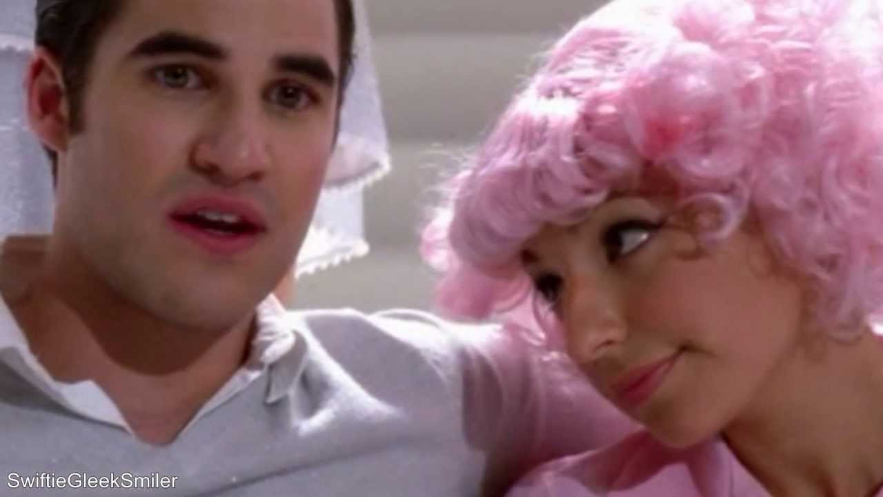 GLEE CAST - BEAUTY SCHOOL DROP OUT LYRICS