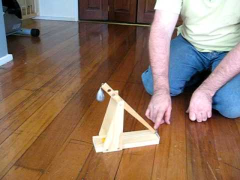 How To Make A Small Simple Trebuchet