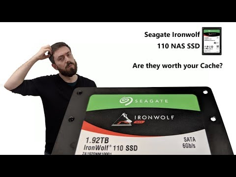 Unboxing and Discussing the Seagate 110 NAS SSD