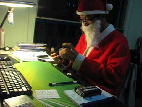 Watch Santa on Rubik's cube 12.88