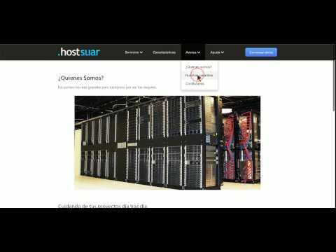 Hostsuar.com opinion clientes + codigo de descuento hosting Hostsuar
