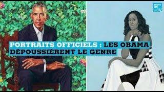 Portraits officiels : Barack et Michelle Obama dépoussièrent le genre