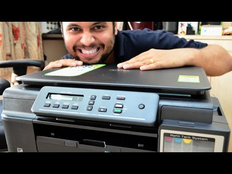 Brother DCP-T300 Colour Multifunction Ink Tank Printer UNBOXING/REVIEW/INK FILL