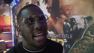 Tevin Farmer Talks about March 15th defense against Jono Carroll