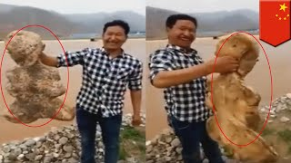 Mutant human-like sea creature found on a beach in China - TomoNews
