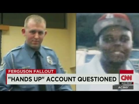 The final moments of Michael Brown's life