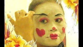 [Tutorial] Tata Rias Tari EDAN EDANAN - Learning Javanese CLOWN Dance Make Up [HD]