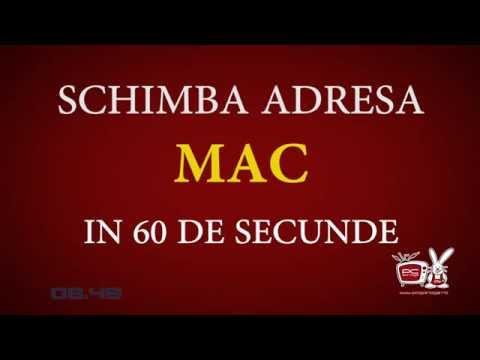 Cum schimbi adresa MAC - In 60 de secunde