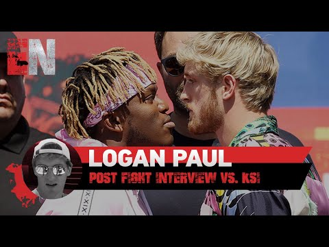 Logan Paul Message To Fans After Losing To Ksi EsNews Boxing