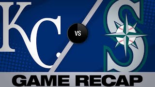Santana powers Mariners to 8-2 win | Royals-Rays Game Highlights 6/19/19